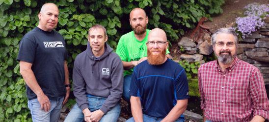 Mens ministry team leaders