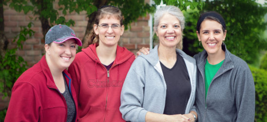 Women's ministry team leaders